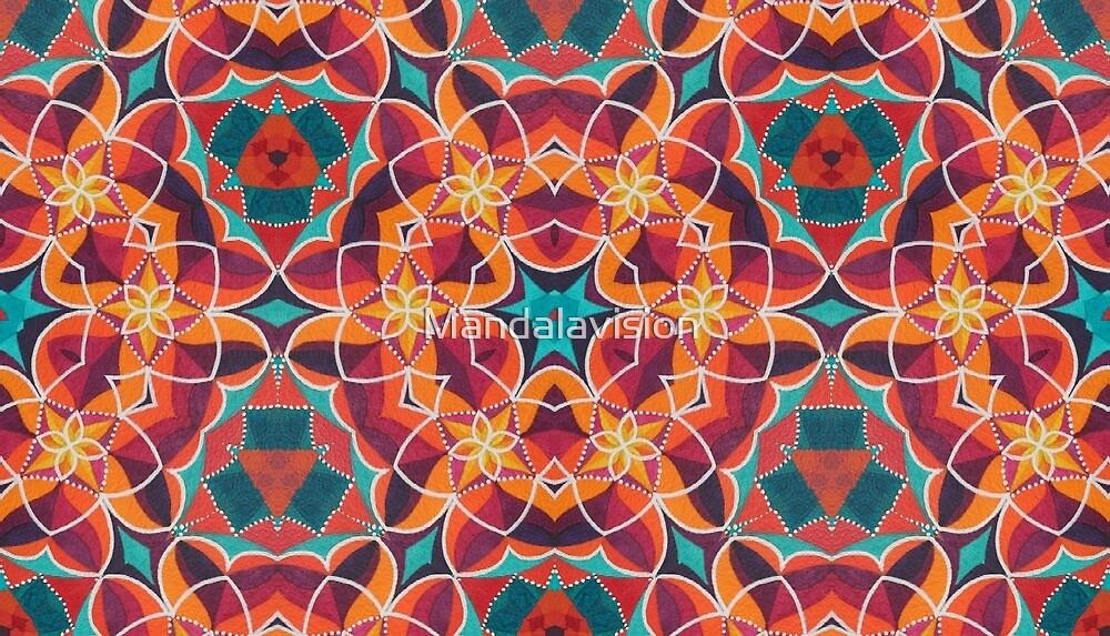 Pushy Pattern von Mandalavision