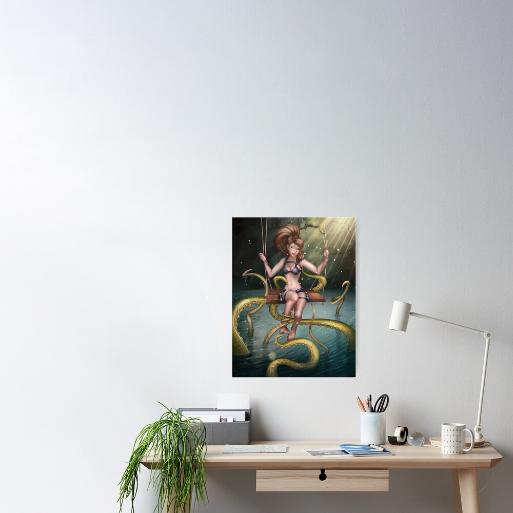 Tickling Tentacles Poster
