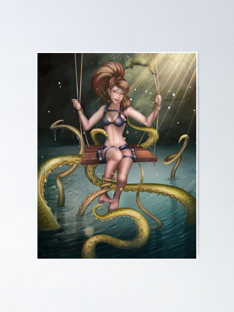 Alternate view of Tickling Tentacles Poster
