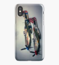 North American P-51 Mustangs iPhone Case