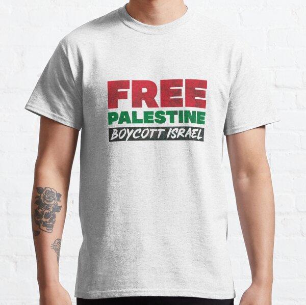 Free Palestine, Boycott Israel Classic T-Shirt