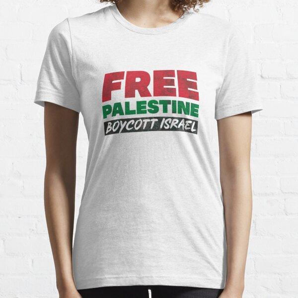 Free Palestine, Boycott Israel Essential T-Shirt