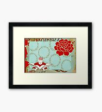 Once upon a time in a dream I had Framed Print