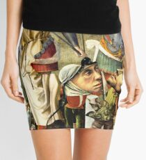 Two Nephilim ~ Angels or Aliens. Mini Skirt