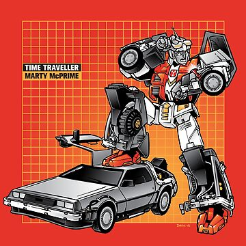 Marty McPrime (New Version) by Obvian