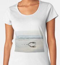 Beach Lurcher Premium Scoop T-Shirt