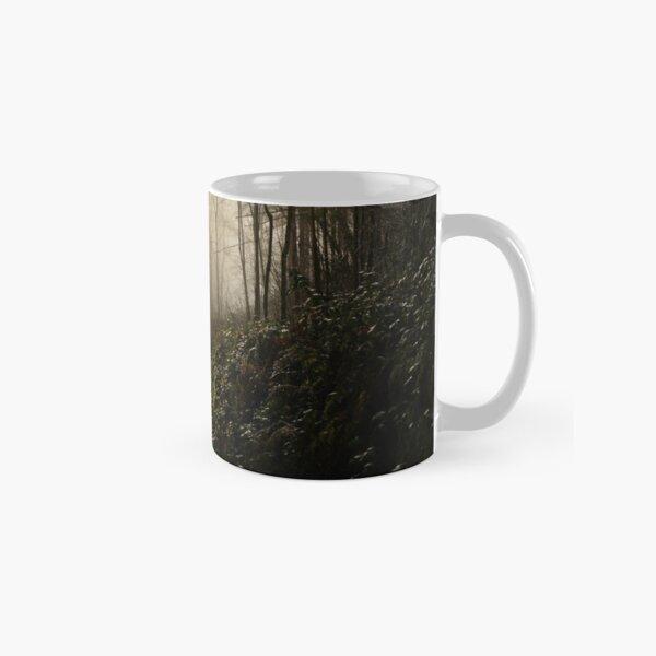 Lurcher in the mist Classic Mug