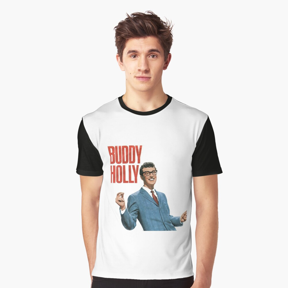 Buddy Holly Graphic T-Shirt