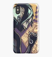 Cyberpunk Hacker Girl iPhone Case/Skin