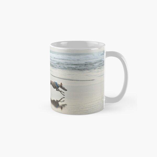 Beach Lurcher Classic Mug