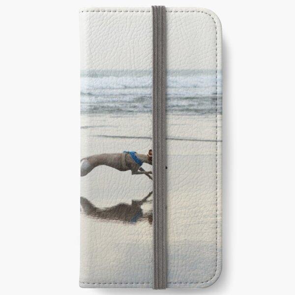 Beach Lurcher iPhone Wallet