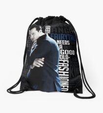 Jim Moriarty Drawstring Bag