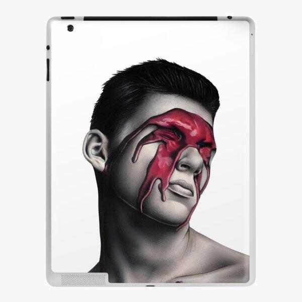 Eye Contact (Colour Pencil Drawing) iPad Skin