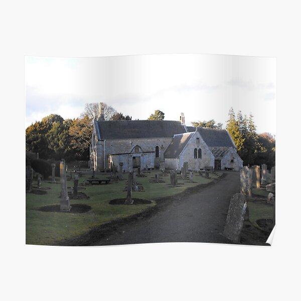 Abercorn Church, Scotland Poster