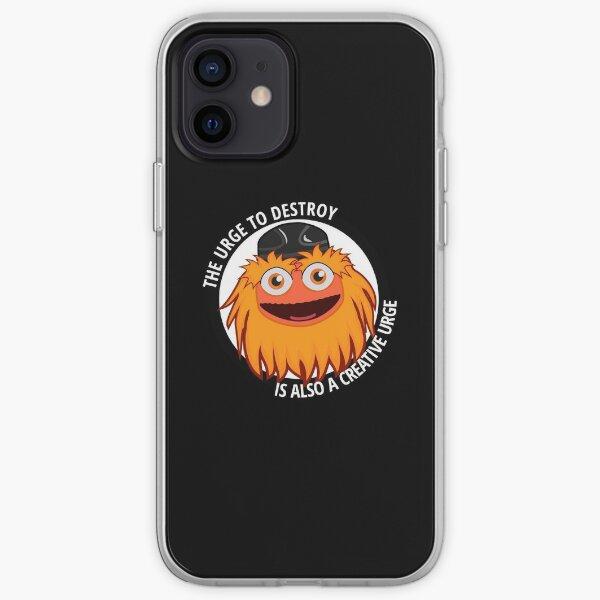 Grobkörniges Mem iPhone Flexible Hülle