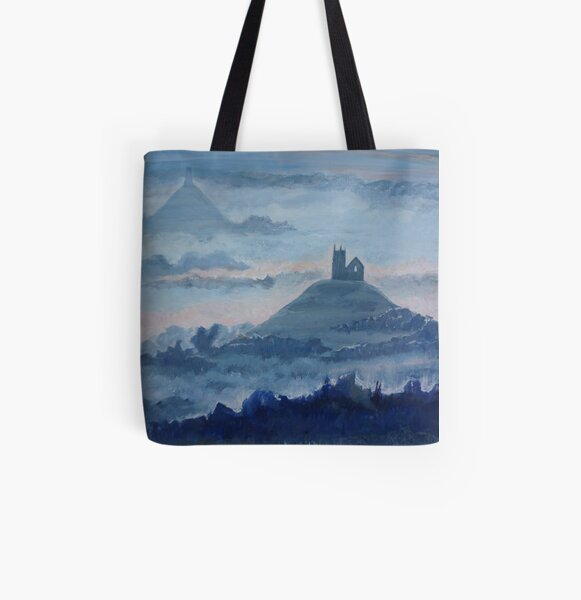 Mists in Avalon All Over Print Tote Bag