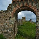 Roundhouse through the arch. by Gary Buchan