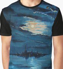 Dragon over Laketown Graphic T-Shirt