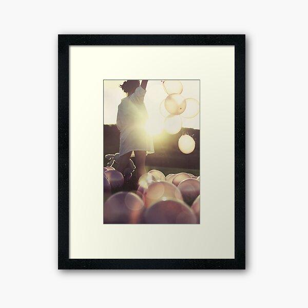 The World Is My Fairground... Framed Art Print