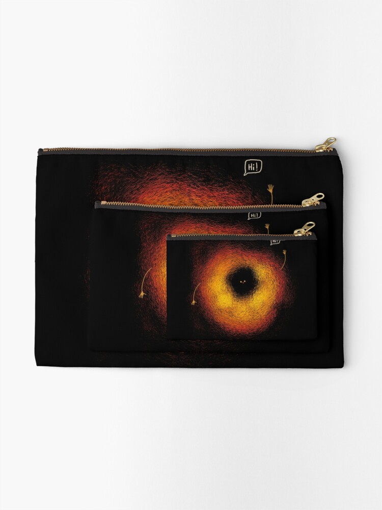 Alternate view of The Black Hole Zipper Pouch