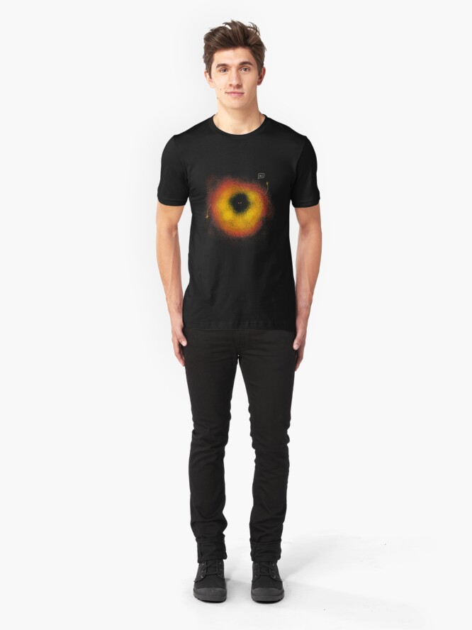 Alternate view of The Black Hole Slim Fit T-Shirt