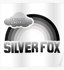 Everybody loves a Silver Fox Poster