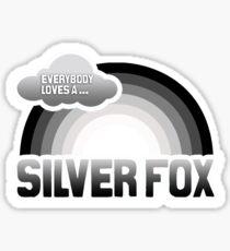Everybody loves a Silver Fox Sticker