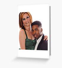 Maureen and Stephen Greeting Card