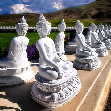 Garden of One Thousand Buddhas by kdxweaver