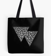 Bisexual Triangles Tote Bag