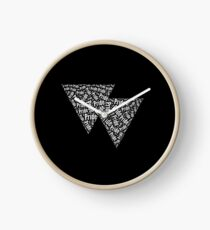 Bisexual Triangles Clock