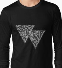 Bisexual Triangles Long Sleeve T-Shirt