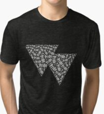 Bisexual Triangles Tri-blend T-Shirt