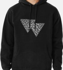 Bisexual Triangles Pullover Hoodie
