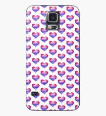 Bisexual Pride Heart Case/Skin for Samsung Galaxy