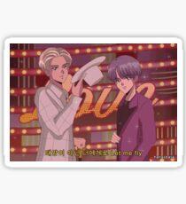 Pegatina BTS RM & SUGA - Niño con lime anime 90