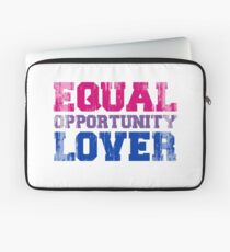 Equal Opportunity Lover Laptop Sleeve
