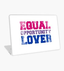 Equal Opportunity Lover Laptop Skin
