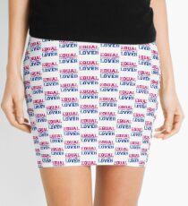 Equal Opportunity Lover Mini Skirt