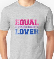 Equal Opportunity Lover Slim Fit T-Shirt