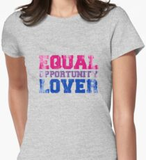 Equal Opportunity Lover Fitted T-Shirt