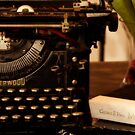 Underwood Typewriter - American Standard by DeerPhotoArts