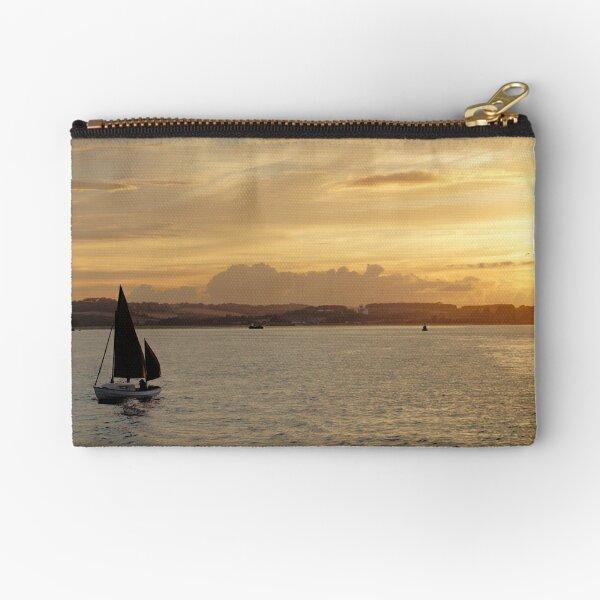Sailboat at Sunset Zipper Pouch