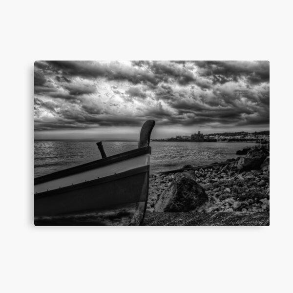 A dramatic seascape  Canvas Print