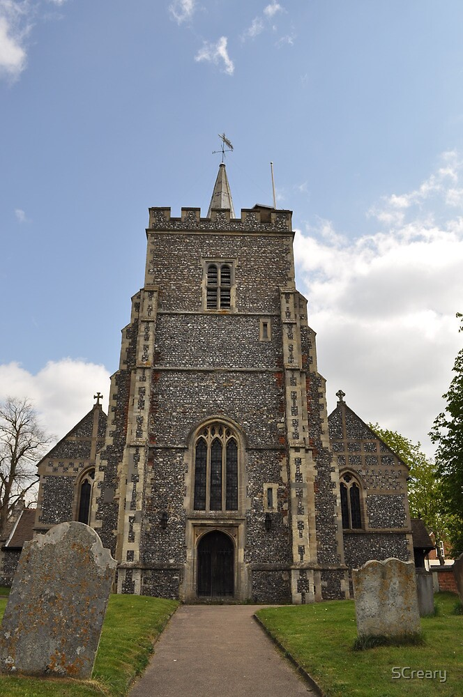 St Mary's Church, Essendon, Hertfordshire ~ April 2010 by Samantha Creary