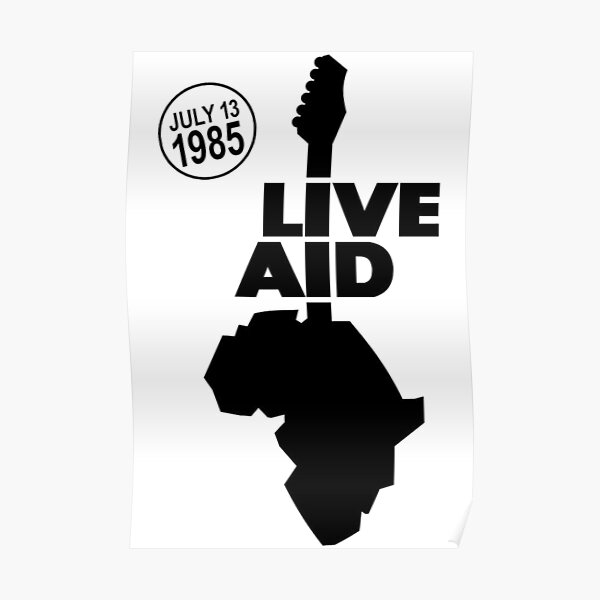 Live Aid 1985 Poster