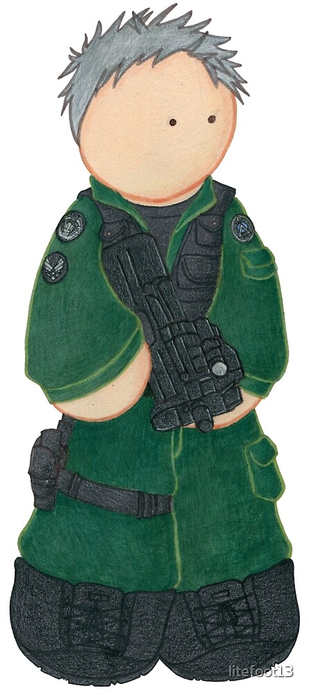 Plushie Colonel O'Neill by Kimberly Weatherston