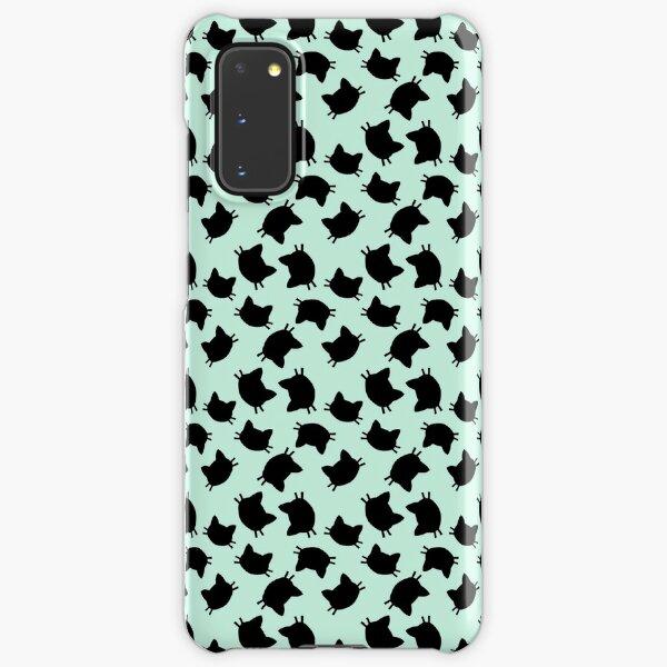 minty cats Samsung Galaxy Snap Case