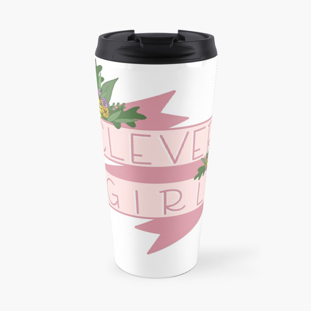 Clever Girl Travel Mug