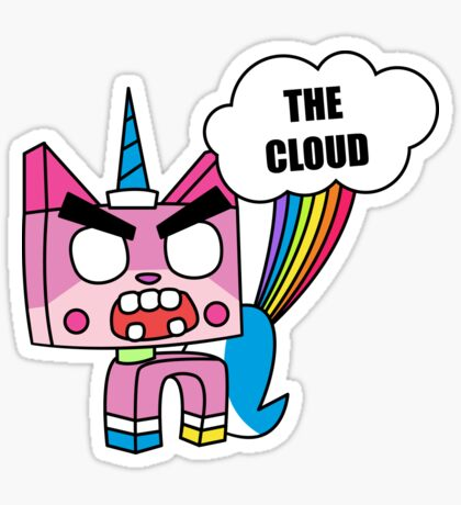 THE CLOUD Glossy Sticker